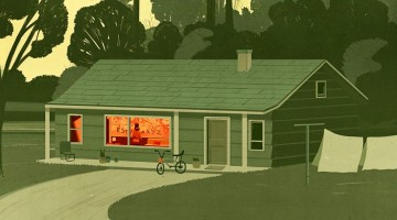 Stranger Things_Emiliano Ponzi_Illustration
