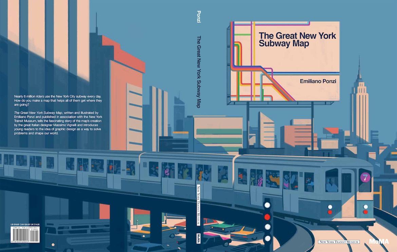Best New York Subway Map.The Great New York Subway Map Emiliano Ponzi 7 Pocko